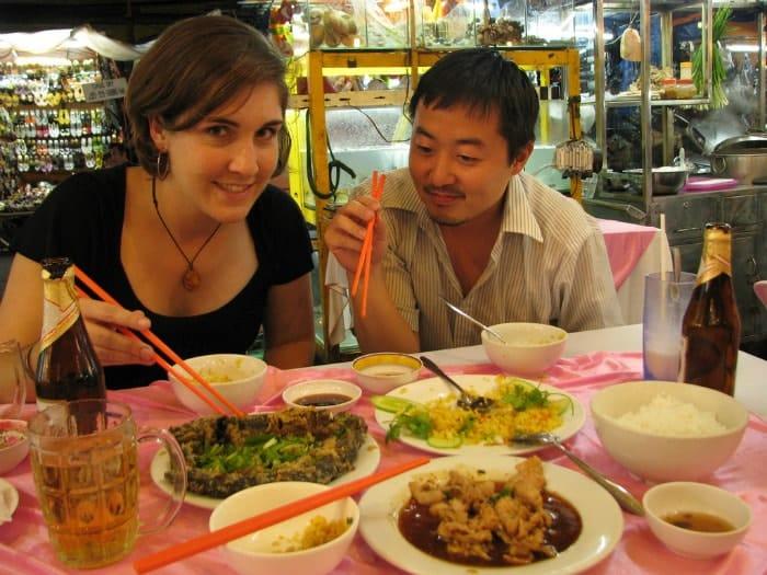 אוכל מקומי במזרח