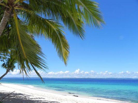 חוף מושלם בפיליפינים