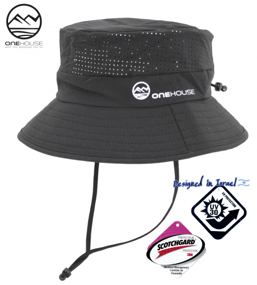 כובע סיירות שחור ONEHOUSE ראשי